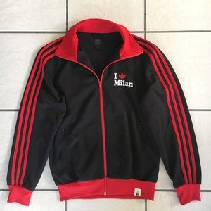 "Men's Adidas ""I Love Milan"" Track Jacket"